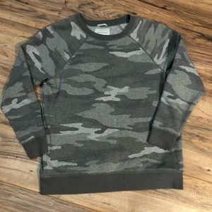 American Eagle Jegging Camo Sweatshirt Tunic Small